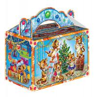 Новогодний подарок Ребятки-тигрятки (тигр, картон)