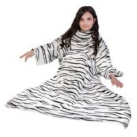 Новогодний подарок Плед с рукавами (тигр, текстиль)