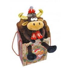 Новогодний подарок Марио (текстиль)