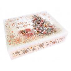 Новогодний подарок Снежность (шкатулка, перепл. картон)