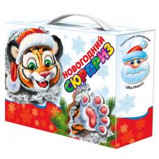 Новогодний подарок Сюрприз (тигр, картон)