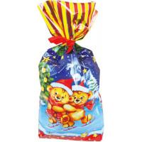 Новогодний подарок Пакет Мишки (мешок)