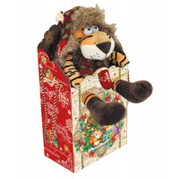 Новогодний подарок А вот и я! (тигр, текстиль)