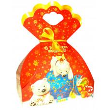Мешок с подарками (картон)