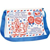 Новогодний подарок Почтовая сумочка (фетр)
