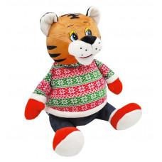 Новогодний подарок Модник (тигр, текстиль)