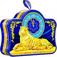 Новогодний подарок Часы (тигр, жесть)