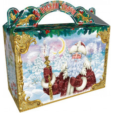 Поздравление Деда Мороза (картон)