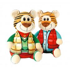 Новогодний подарок Улыбка (тигр, текстиль)