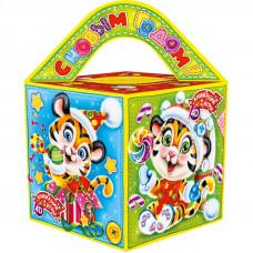 Кубик (тигр, картон)