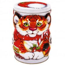 Новогодний подарок Пушистик (тигр, жесть)