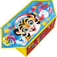 Новогодний подарок Конфетка (тигр, картон)