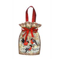 Новогодний подарок Снегири (мешок)