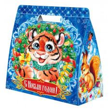 Новогодний подарок Баульчик (тигр, картон)