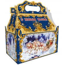 Новогодний подарок Ларец Тройка (картон)