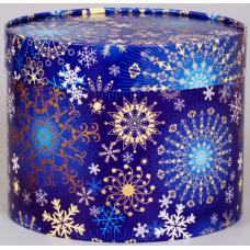 Зима (круглая коробка)