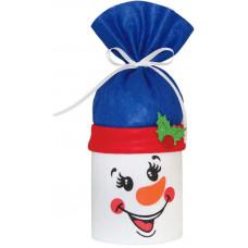 Новогодний подарок Туба Снеговик (фетр)