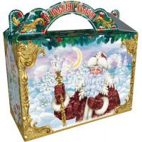 Поздравление Деда Мороза большая (картон)