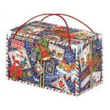 Новогодний подарок Кому-то очень хорошему! (посылка, картон)