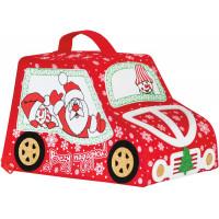 Новогодний подарок Мороз Авто (фетр)