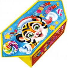 Конфетка (тигр, картон)
