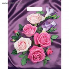 Пакет Атласные розы 40*31