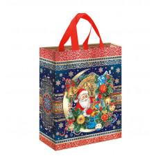 Санта (сумка на кнопке)