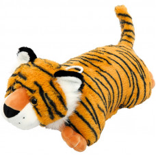 Новогодний подарок Подушка-тигрушка (тигр, текстиль)